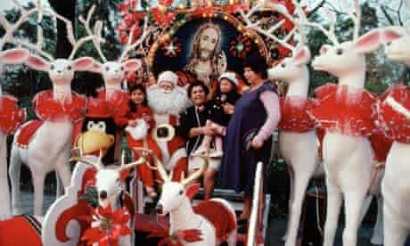 Christmas Display in Mexico City