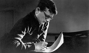 Dmitri Shostakovich Composing
