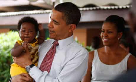 US President Obama in Accra