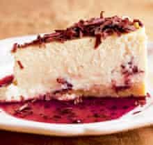 Nigel Slater's Christmas cheesecake