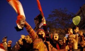 Egypt's President Hosni Mubarak resigns