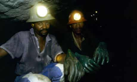 Anglo American miners Africa