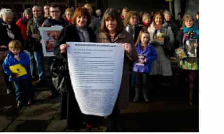 Writers protest at Scottish Parliament