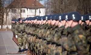 German conscrips