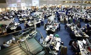 Daily Telegraph newsroom