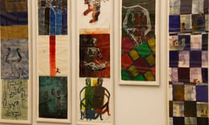 Azur, 2002 by Nancy Spero at the Serpentine Gallery