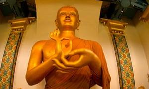 Interior of Great Stupa of Dharmakaya at Shambhala Mountain Center