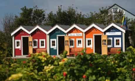 Fisher huts Heligoland