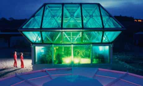 Test Module at Biosphere II