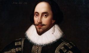 Portrait Painting of William Shakespeare