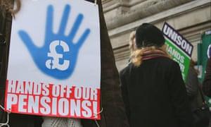 Unison pensions strike