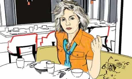 Deborah Harry illustration for OFM