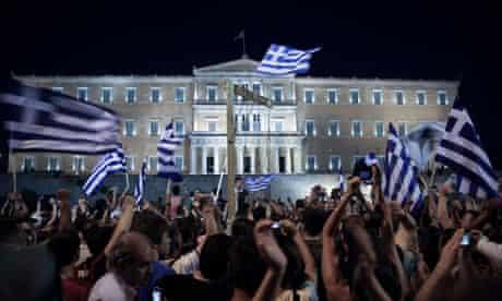 Protests in Syntagma square