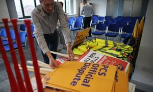 Public Sector Workers And Union Members Prepare For Tomorrow's National Day Of Strikes