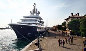 Abramovich's mega yacht