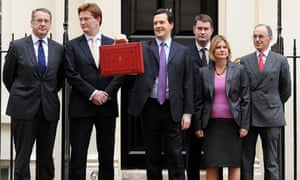 George Osborne and team