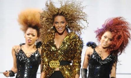 Beyonce at Glastonbury Festival
