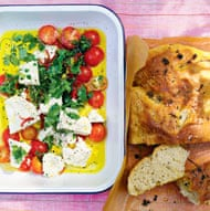 Nigel Slater's marinated feta