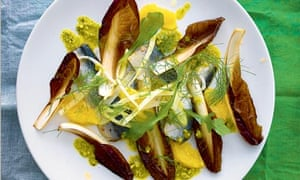 Nathan Outlaw's salad of cured sardines