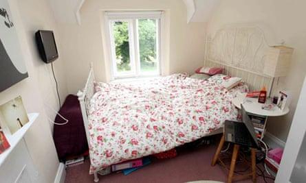 jk rowling bedroom