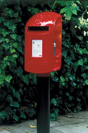 Kenneth Grange: Rural Pillar Box