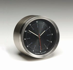 Kenneth Grange: Short & Mason steel clock