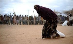 Somalia refugee drought