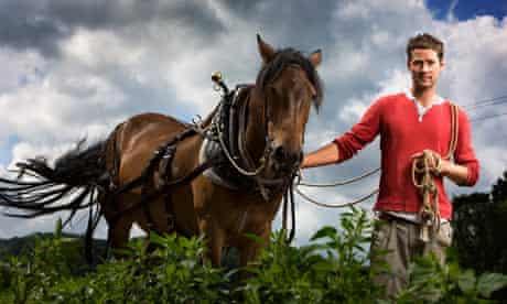 Dartmoor farmer, Ed Hamer