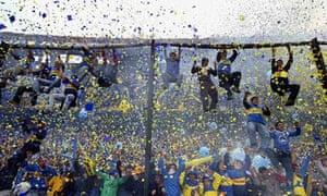 Boca Juniors fans (FILES) Boca Junio