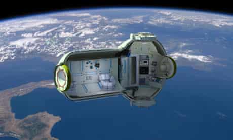 Hotel in space planned by Orbital Technologies