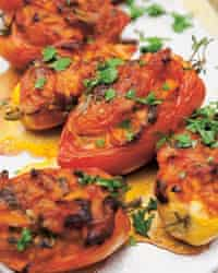 Nigel Slater's baked tomatoes