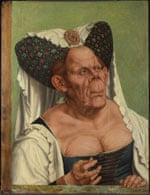 An Old Woman (The Ugly Duchess) by Quinten Massys, c.1513