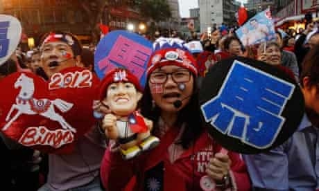 Taiwan supporters