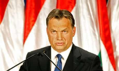 Hungarian Prime Minister Viktor Orban de