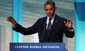 Obama at Clinton Global Initiative