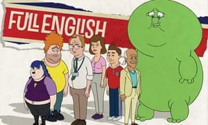 Full English cartoon series
