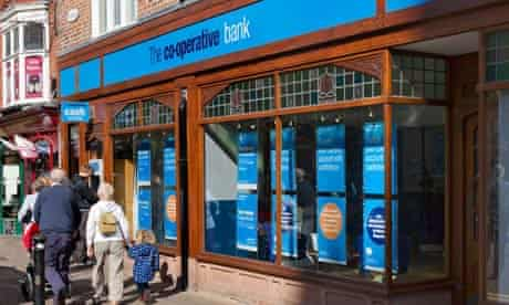 Co-operative bank branch in Chester