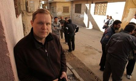 Paul Woiod in Homs