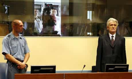 Karadzic in court