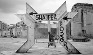 Sniper Alley Sign