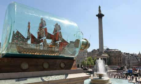 Yinka Shonibare's HMS Victory sculpture