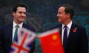 David Cameron, George Osborne
