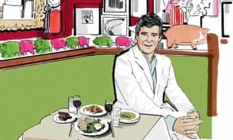 lunch Jay McInerney