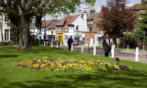 Calm prevails in the prosperous town of Harpenden