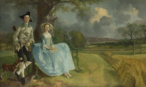 Thomas Gainsborough's Mr and Mrs Andrews (c1750)