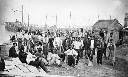 Contraband laborers at White House Landing