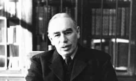 Keynes in His Bloomsbury Study, 1940
