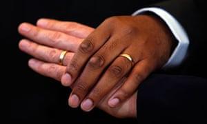 First Same Sex Weddings