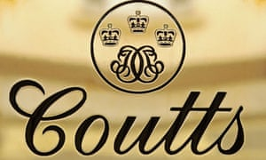 Coutts Bank Sign
