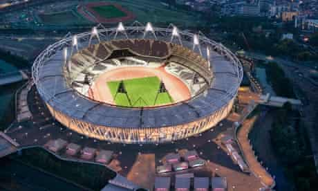 The Olympic stadium was designed by Populous